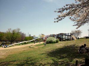 天白公園 滑り台